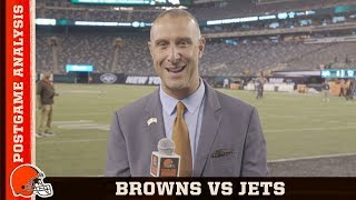 Browns vs. Jets Postgame Analysis (Week 2) | Cleveland Browns