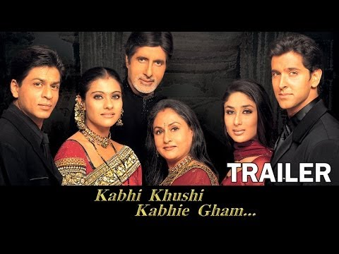 Kabhi Khushi Kabhie Gham - Official Trailer video