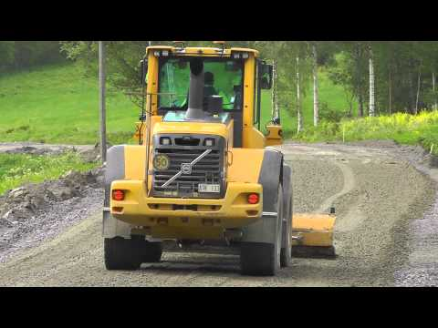 Volvo L90F With A BRW (Kiruna) Grader Attachment