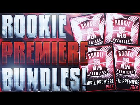 5x ROOKIE PREMIERE BUNDLES! 59 PACKS! - Madden Mobile 16