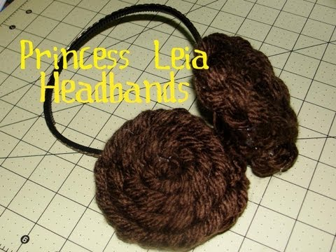 How to Make Princess Leia Headbands Star Wars