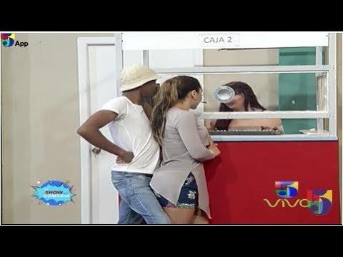 Comedia: Popolo Acosando A La Rubia En La Agencia - El Show De La Comedia