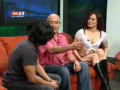 Alisson Cooper, Miss Table Dance 2011, en entrevista para Villamelones (23-02-2012)