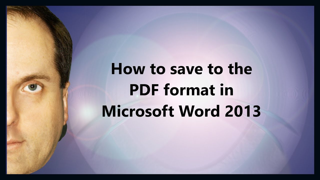 save as pdf and xps for word 2013 not working