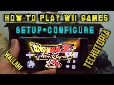 How to setup Wii Remote in Dolphin emulator-Play Wii games on Android smartphone-Configure(DBZ)