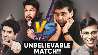 VISWANATHAN ANAND vs ABISH MATHEW (Match of the century) Highlights