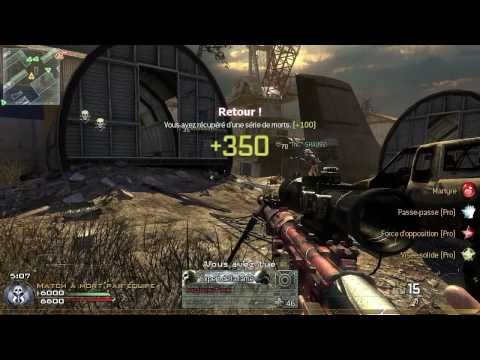 COD6 MODERN WARFARE 2 FRAG KILLSTREAK SERIAL K5 montage online multiplayer