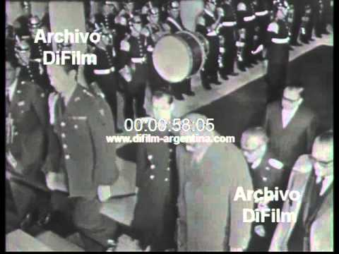 DiFilm - Raul Leoni y Eduardo Frei visitan Colombia (1966)