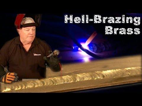 Heli Brazing Brass