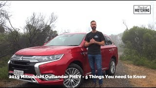 2019 Mitsubishi Outlander PHEV Review - The electric shock you want...