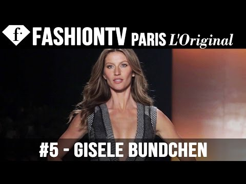 Gisele Bundchen Walks the Colcci Winter 2014 Runway | Sao Paulo Fashion Week SPFW | FashionTV