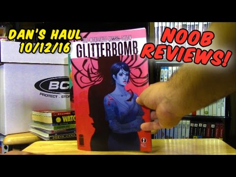 Dan's Haul 10/12/16: NOOB REVIEWS!!!