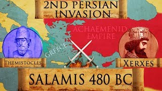Battle of Salamis 480 BC (Persian Invasion of Greece) DOCUMENTARY