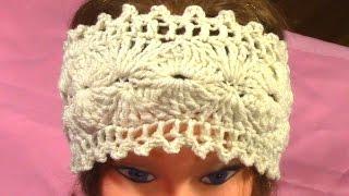 Download DIY Hot Crochet Headband, Tutorial, Pattern 3Gp Mp4