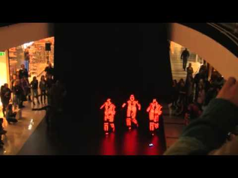 Amazing Light Show Dance Flashmob In Mall video
