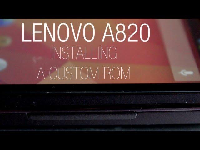 Прошивка Для Lenovo A 820
