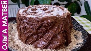 """Торт """"Трухлявый Пень"""" Как Сметанник, Только Еще Вкусней   Cake Rotten Tree Stump"""