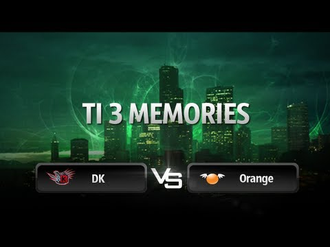 TI 3 Memories: DK vs Orange