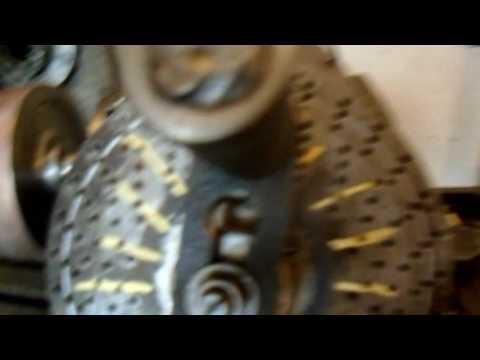 Изготовление косозубой шестерни 2 серия