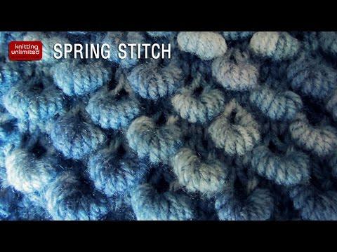 Spring Stitch - YouTube