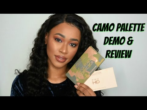 CAMOUFLAGE CONCEAL PALETTE DEMO & REVIEW