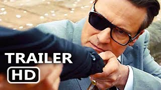 Kingsman 2 Official Trailer # 2 (2017) Colin Firth Action Movie HD