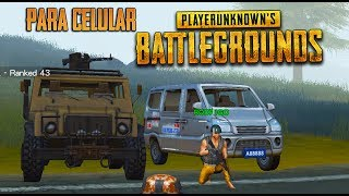 SAIU! BATTLEGROUND DE ANDROID AGORA NO PC (Wilderness Action)