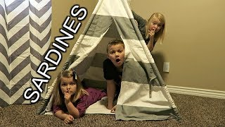 SUPER SARDINES! | Hide and Seek with Cousins