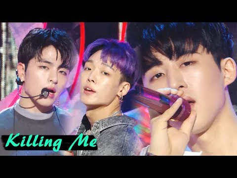 [Comeback Stage]iKON- KILLING ME, 아이콘 - 죽겠다 Show Music core 20180804