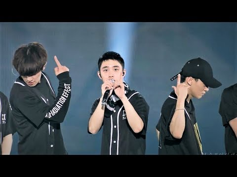 EXO(엑소)- Growl + Lucky One + Angel + Ending