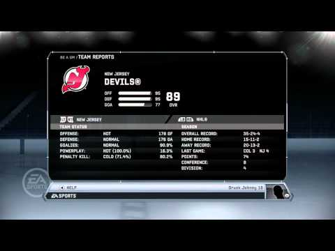 NHL 12: GM Mode Commentary - New Jersey ep. 12