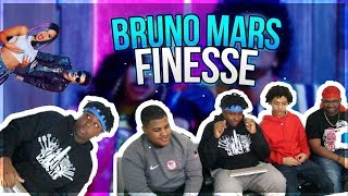 Download Lagu Bruno Mars - Finesse (Remix) [Feat. Cardi B] [Official Video] *REACTION* Gratis STAFABAND