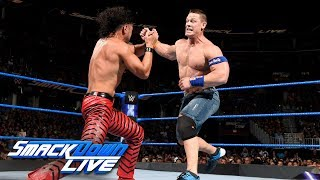 John Cena vs Shinsuke Nakamura SmackDown LIVE Aug 1 2017
