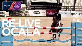LIVE 🔴 | Ocala | Longines FEI World Cup™ Jumping NAL | Ranking Competition - Live Oak International