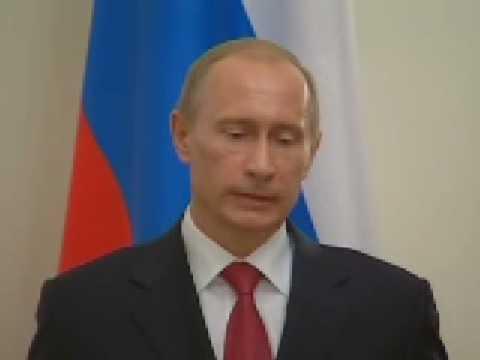 Ukraine-Gazprom.V.Putin.Итоги встречи с М.Тополанеком.10.01.09.Part 2