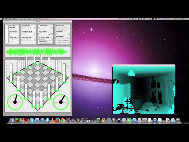 Introducing Gesture - A Kinect Powered Max/MSP Multichannel MIDI Device!