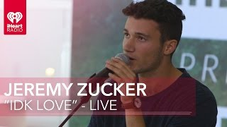 "download lagu Jeremy Zucker - ""idk Love"" Acoustic  Iheartradio Live gratis"