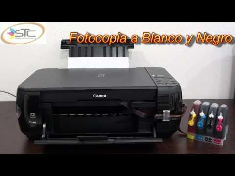 Multifuncional Canon Pixma MP280 Con Sistema de Tinta Continua STC