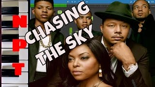 Empire Cast Chasing The Sky Piano Tutorial Terrence Howard Jussie Smollett Yazz Instrumental