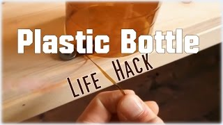How to make plastic strings (using old bottles) - Life Hacks
