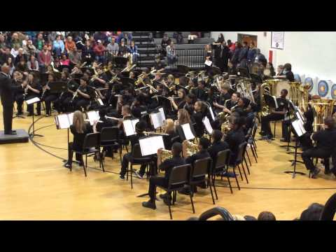General Ray Davis Middle School 7th Grade Band performs The Tenth Planet by Michael Story