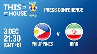 Philippines v Iran - Press Conference - FIBA Basketball World Cup 2019 Asian Qualifiers
