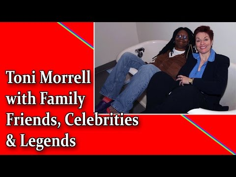 THANK YOU AMERICA! Toni Morrell with Family, Friends, Celebrities & Legends