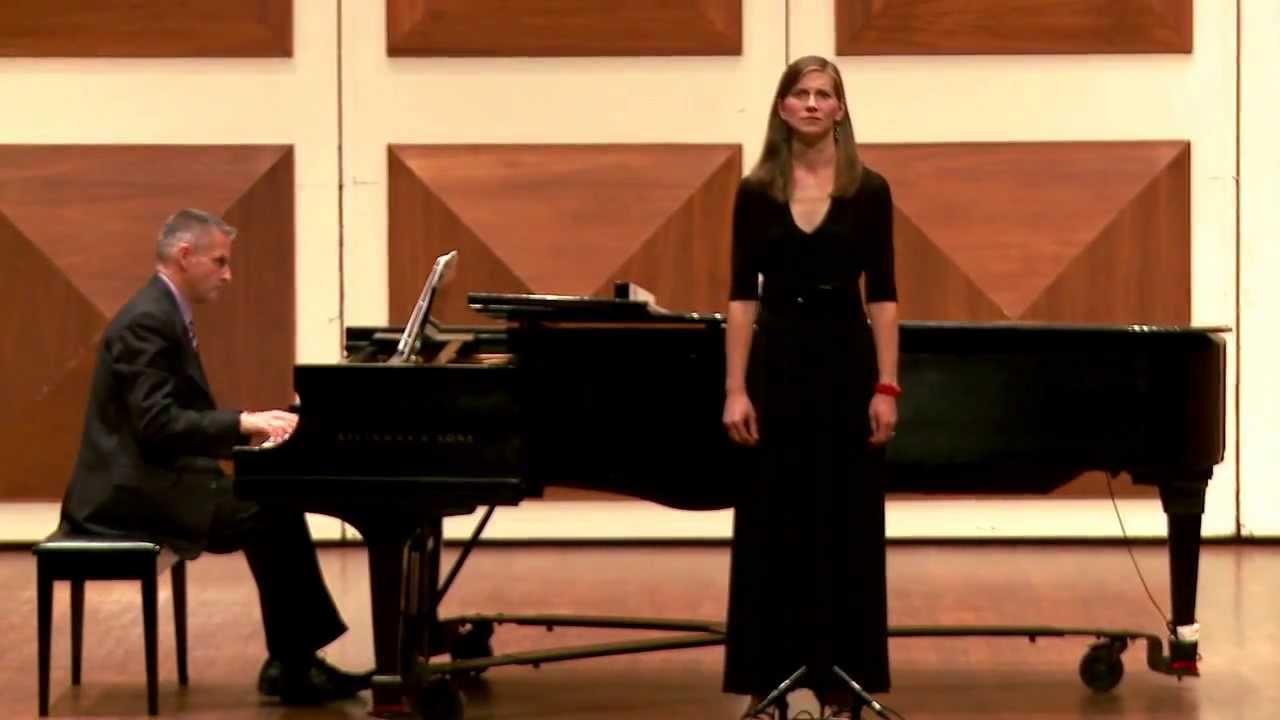 Jennifer Enns Modolo Ruckert Lieder Um Mitternacht Gustav Mahler Youtube