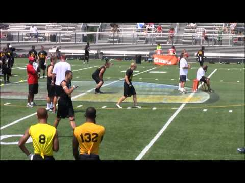 FBU Top Gun All-American Camp - Trent Sewell (WR - 2012, Bothell WA)