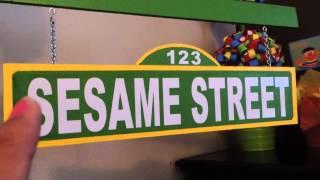 Sesame Street DIY  Party Decor