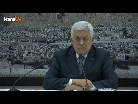 Abbas formally announces deal with Israel on Gaza ceasefire