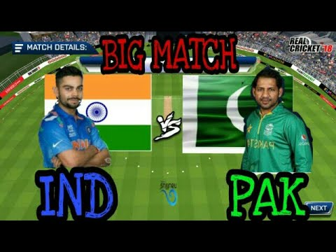 REAL CRICKET 18 BIG MATCH(IND VS PAK)