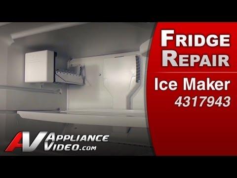 Ice maker - Refrigerator Repair (Whirlpool Replacement Part # 4317943)