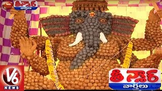 Different Types Of Ganesh Idol In Telangana | Teenmaar News